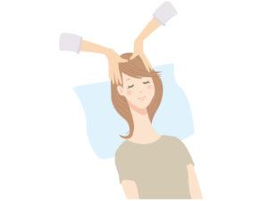 頭皮のたるみマッサージ